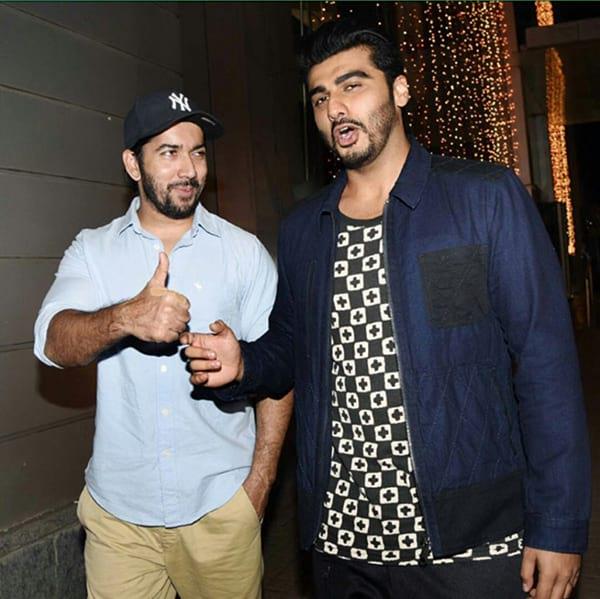 Arjun Kapoor and Rohit Dhawan
