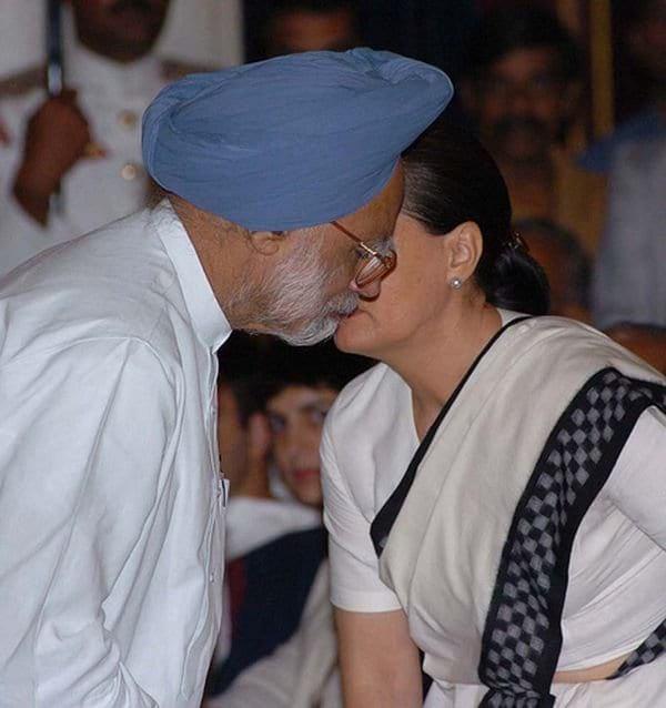Manmohan Singh experiencing the Axe effect