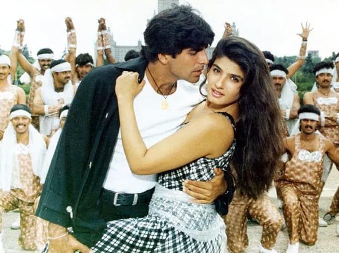 akshay kumar raveena tandan love breakup.
